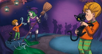 Mijn vriend de heksenkat / My friend the Witch's Cat